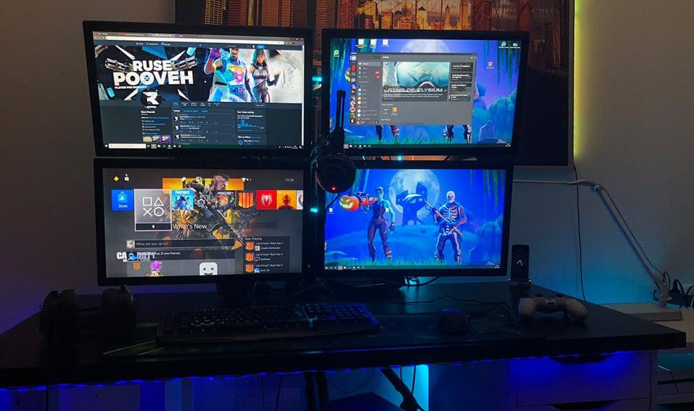 4 Gaming Monitore