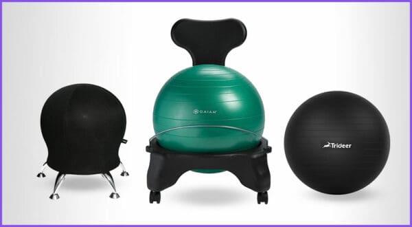 Die besten 3 Sitzball-Stühle für ergonomisches Sitzen