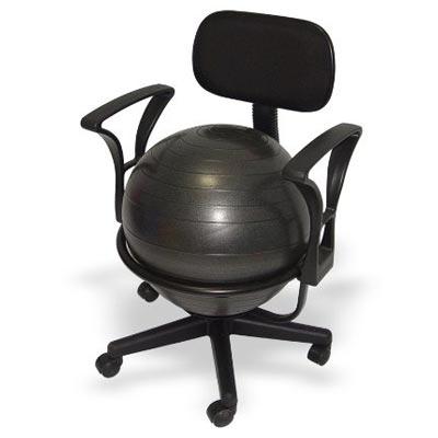 Ballstuhl Gesundheitstuhl mit Lehnen