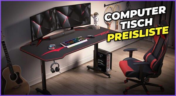 Wie viel kostet ein Computertisch? (Tipps und Preisliste)