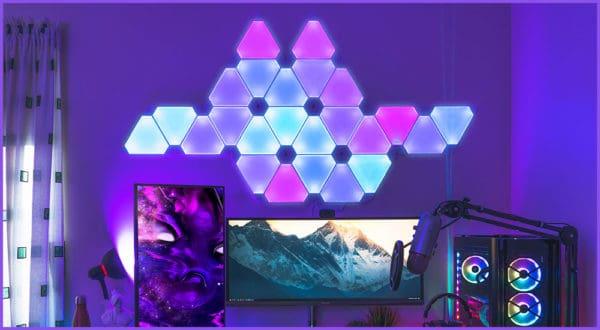 Die besten 3 Nanoleafs für Gaming-Zimmer + Ideen