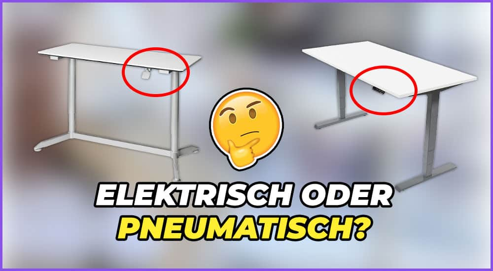 Elektrischer oder Pneumatischer Tisch