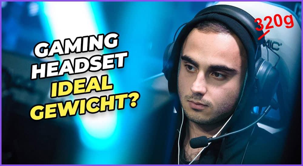 Gaming-Headset Gewicht