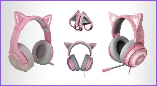 Die besten Gaming Headsets mit Katzenohren