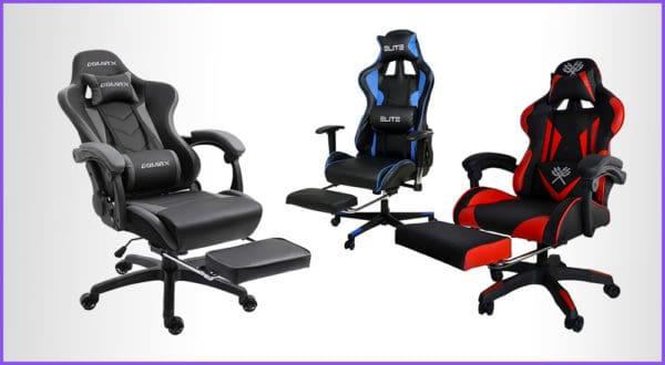Die 7 besten Gaming-Stühle mit Fußstütze