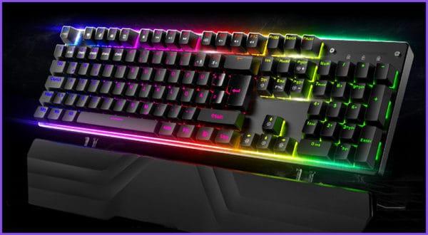 Die besten Gaming-Tastaturen für große Hände