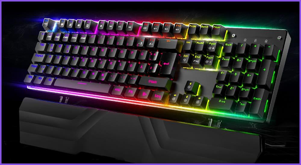 Gaming Tastatur für große Hände