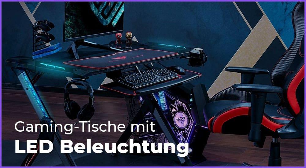 Die besten Gaming-Tische mit LED Beleuchtung
