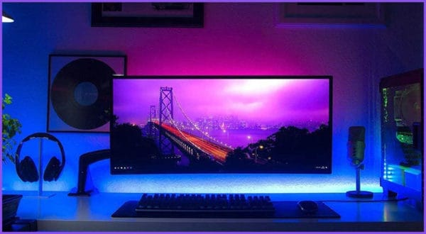 Gaming-Zimmer RGB Beleuchtung: LED Anleitung & Tipps