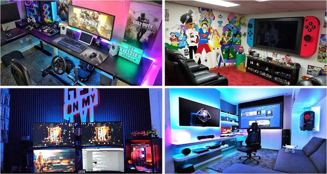 Gaming Zimmer Extrem einrichten