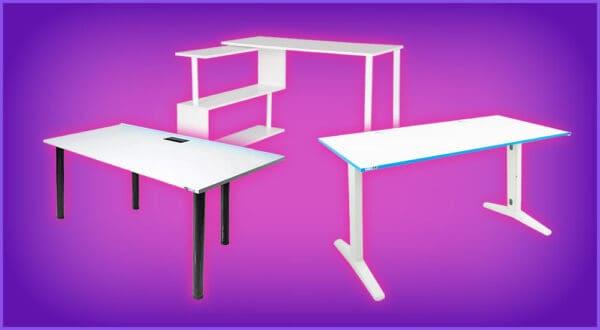 Die 7 besten weißen Gaming-Tische