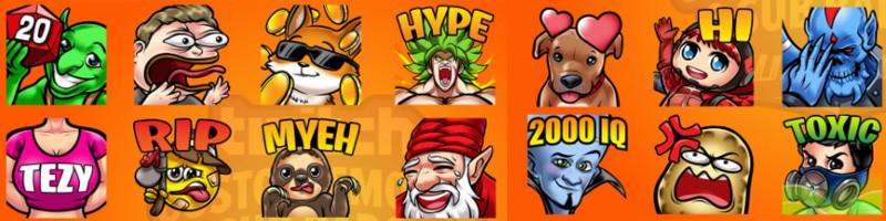 Hochwertige Twitch Emotes erstellen