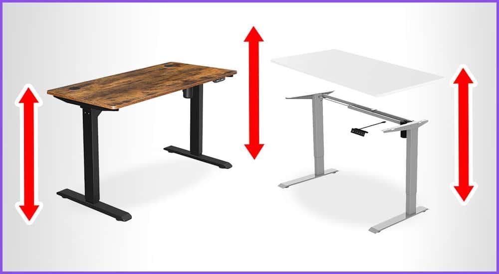 Elektrisch höhenverstellbare Schreibtische bis 300 Euro
