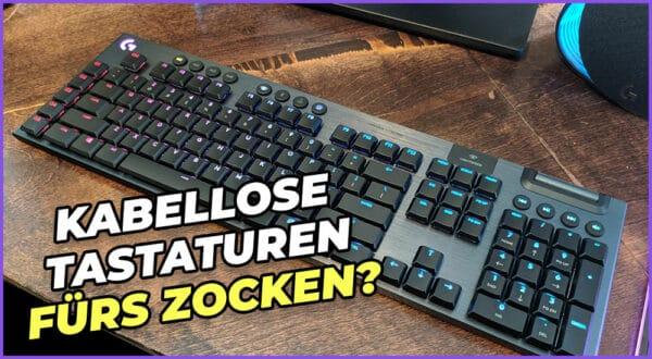 Sind kabellose Tastaturen gut zum Spielen? (Vergleich)