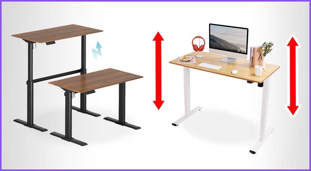 Kleine Höhenverstellbare Schreibtische