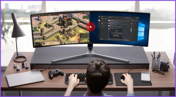 Maus geht beim Spielen auf den zweiten Monitor (Lösung)