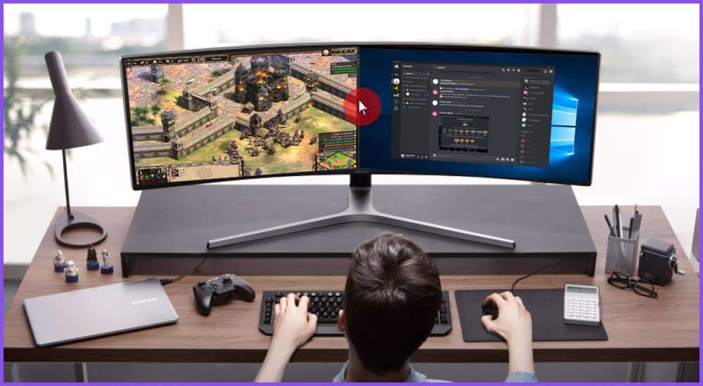 Mauszeiger 2 Monitore