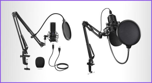 Die besten 4 Streaming Mikrofone mit Gelenkarm