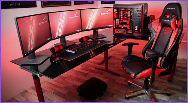 Rote Gaming-Stühle: Die 6 besten Modelle auf dem Markt