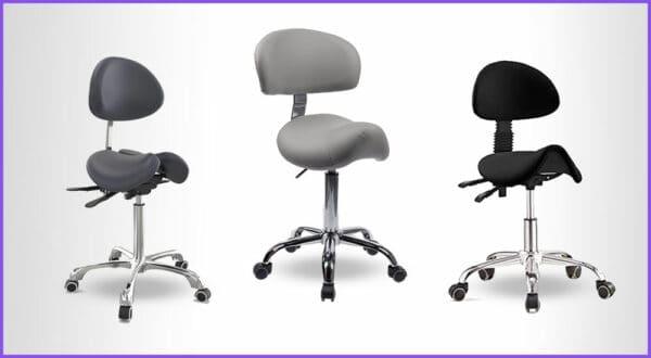 Die besten 3 Schreibtisch Sattelstühle mit Rückenlehne