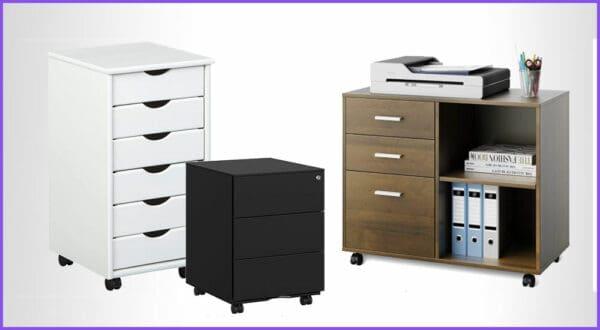 Die besten 6 Schreibtisch-Rollcontainer fürs Büro