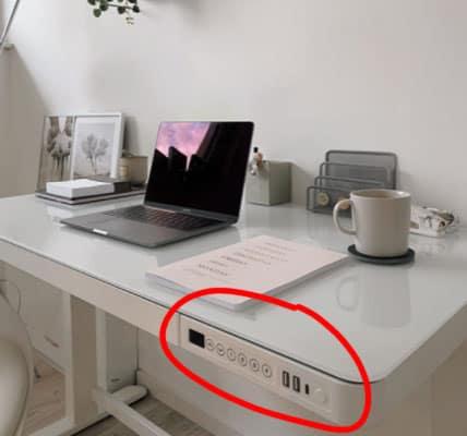 smarter Schreibtisch