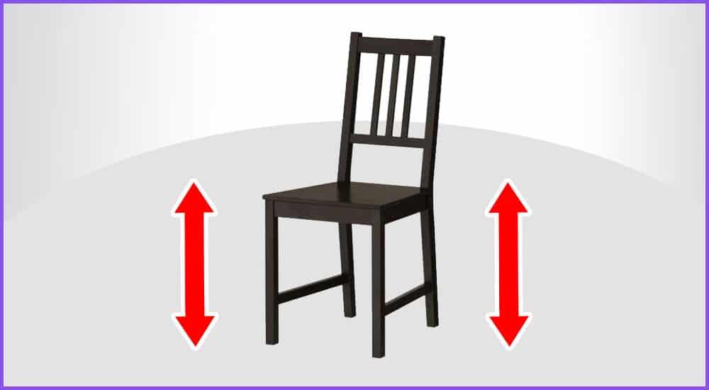 Stuhlhöhen Rechner