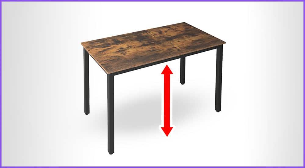 Tischhöhen Rechner