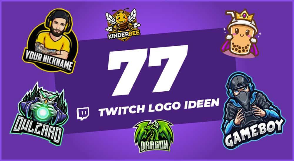 Twitch Logo Ideen