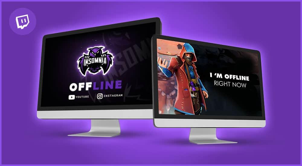 Twitch Offline Banner erstellen lassen