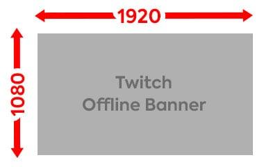 Twitch Offline Banner Größe