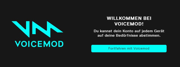 Voicemod Account