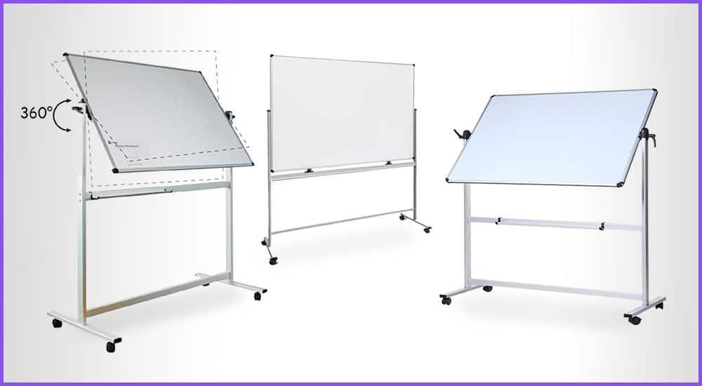 Whiteboards mit Ständer auf Rollen