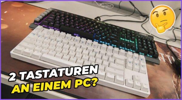 Wie 2 Tastaturen an einen Computer anschließen? (Lösung)